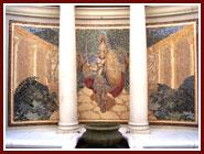 ceasars palace roman warrior mural