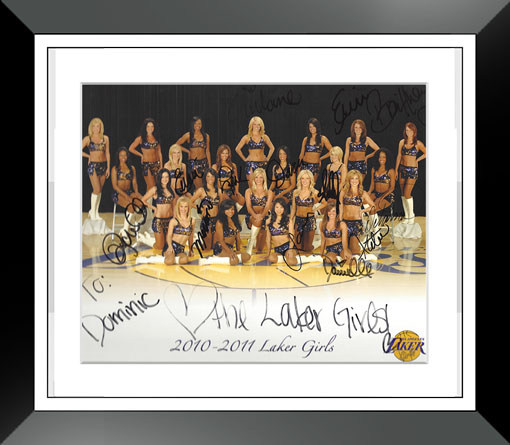 laker girls autograph thank you